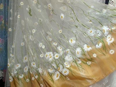 И нежные цветы по всему полю орга